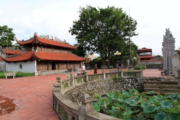 Hai Duong: destinations historiques officiellement nommees sites de reliques nationales hinh anh 2