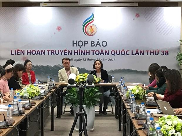 Lam Dong accueillera le 38e Festival national de la Television hinh anh 1