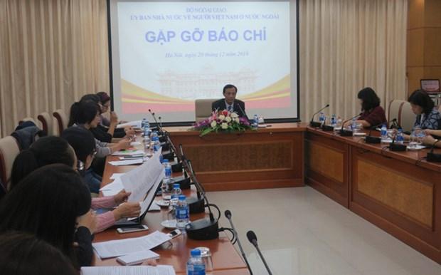 Conference de presse du comite des Vietnamiens de l'etranger hinh anh 1