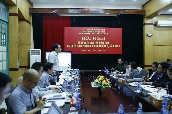 Renforcer l'organisation du Comite national pour le Mekong du Vietnam hinh anh 1