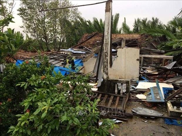 Le typhon Pabuk a fait un mort et six blesses hinh anh 1