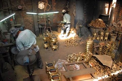 An Hoi, un village artisanal au cœur de la ville hinh anh 1