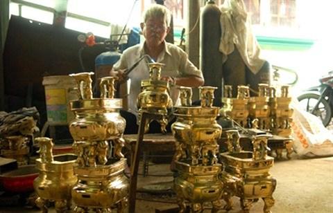 An Hoi, un village artisanal au cœur de la ville hinh anh 3