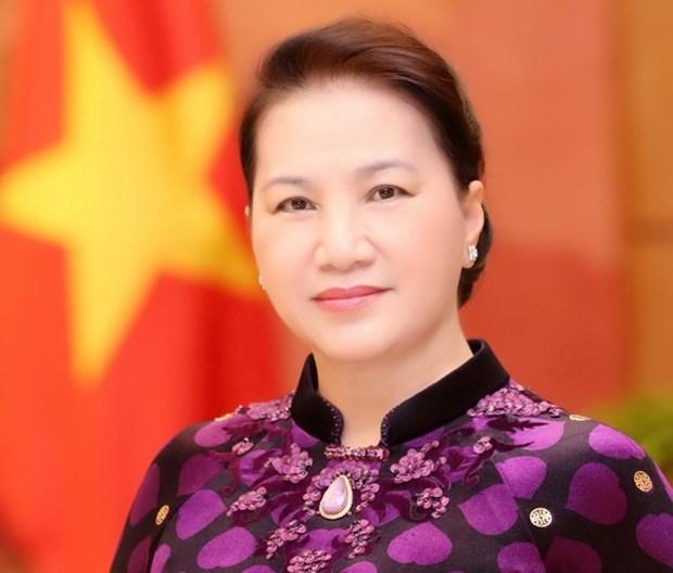 La presidente de l'AN Nguyen Thi Kim Ngan part pour le 27e Forum parlementaire de l'Asie-Pacifique hinh anh 1