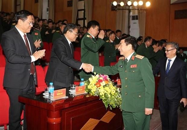 Activites celebrant des 70 ans de la fondation de l'Armee populaire du Laos hinh anh 1