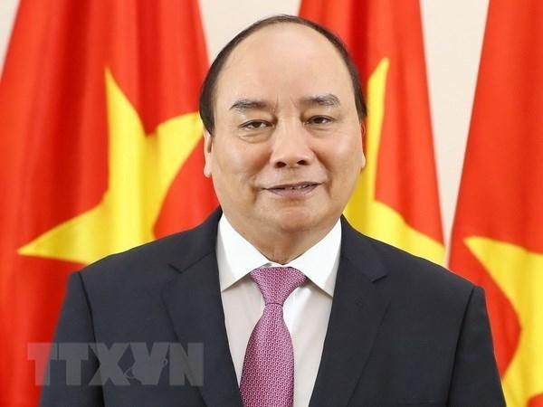 Le PM quitte Hanoi pour le Forum economique mondial de Davos 2019 hinh anh 1