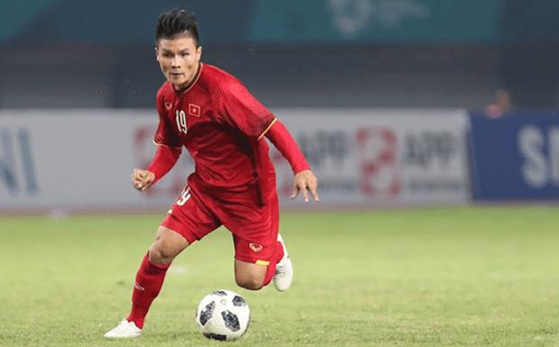Quang Hai elu meilleur footballeur des eliminatoires de la Coupe d'Asie 2019 hinh anh 1