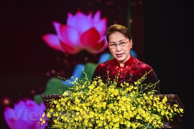 Remise des prix du journalisme sur l'edification du Parti 2018 hinh anh 1