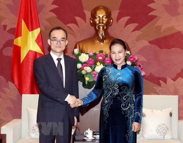 La presidente de l'AN plaide pour une cooperation avec le procureur supreme de la R. de Coree hinh anh 1