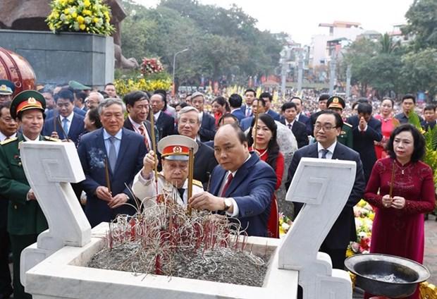 Celebration des 230 ans de la victoire de Ngoc Hoi-Dong Da hinh anh 1