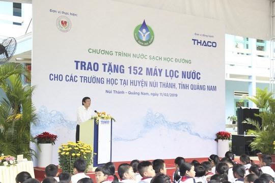 Un programme aide a assurer de l'eau potable aux ecoles hinh anh 1