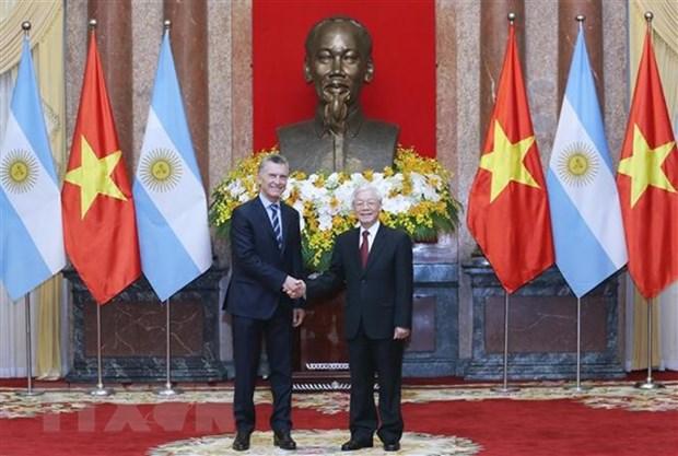 Le Vietnam et l'Argentine signent des documents de cooperation hinh anh 1