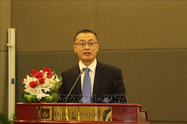 Le diplomate Vu Quang Minh souligne l'importance de la visite d'Etat de Nguyen Phu Trong au Cambodge hinh anh 1
