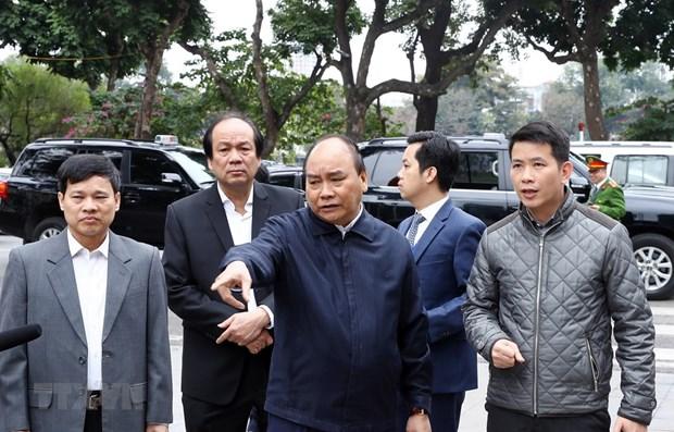 Le PM renforce l'examine des preparatifs du 2e Sommet Etats-Unis - RPDC hinh anh 1