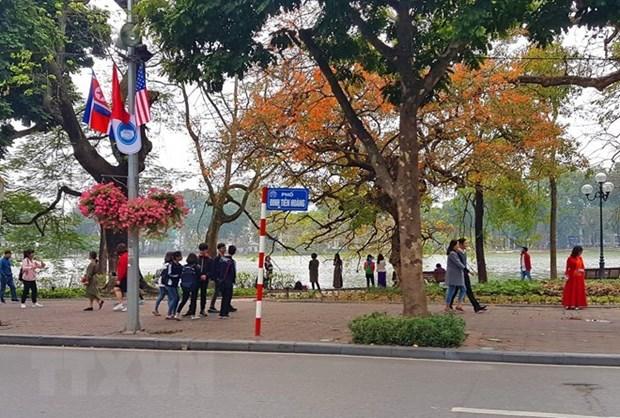 Sommet Etats-Unis-RPDC : rehaussement de l'hospitalite des Hanoiens hinh anh 1