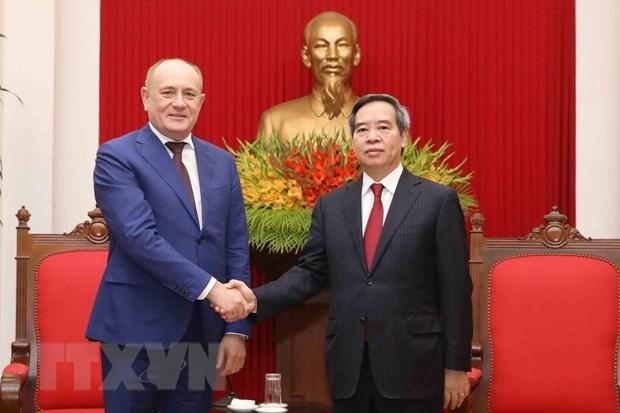 Gazprom salue pour ses contributions aux relations entre le Vietnam et la Russie hinh anh 1