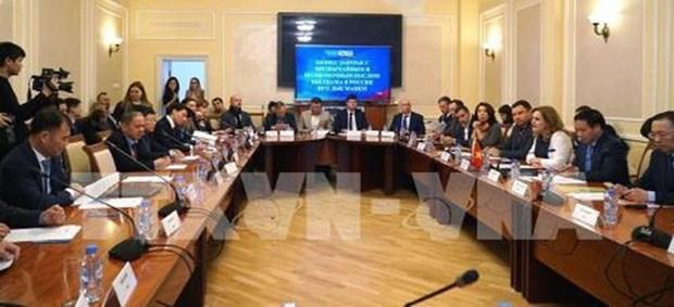 Des entreprises vietnamiennes et russes echangent des opportunites de cooperation hinh anh 1