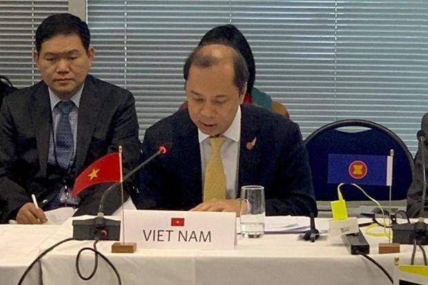 Le 26e dialogue ASEAN-Nouvelle-Zelande a Wellington hinh anh 1