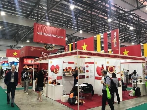 Le Vietnam a la Foire-expo international du the, du cafe, de la gastronomie a Singapour hinh anh 1