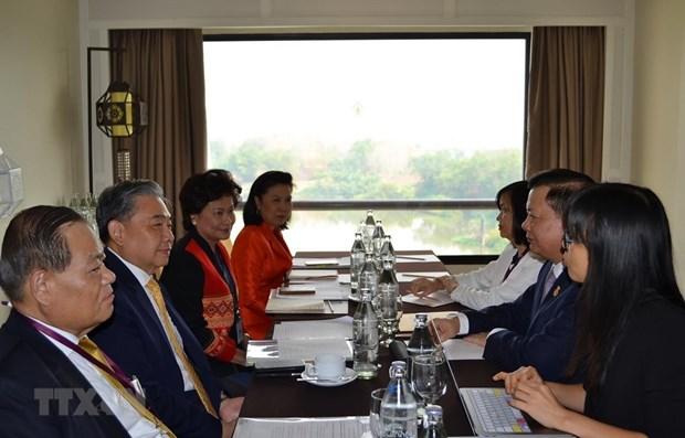Le Vietnam et la Thailande renforcent leur cooperation financiere au sein de l'ASEAN hinh anh 1