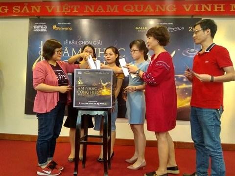 Les journalistes votent pour le 14e Prix Cong hien hinh anh 1