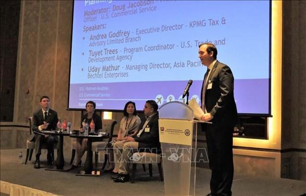 Le Vietnam et les Etats-Unis discutent de cooperation dans l'aviation hinh anh 1