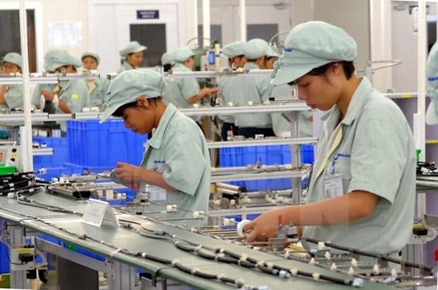 L'indice de production industrielle de HCM-Ville en hausse de 6,24% hinh anh 1