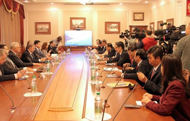 Promotion de la cooperation entre Binh Thuan (Vietnam) et Kaluga (Russie) hinh anh 1