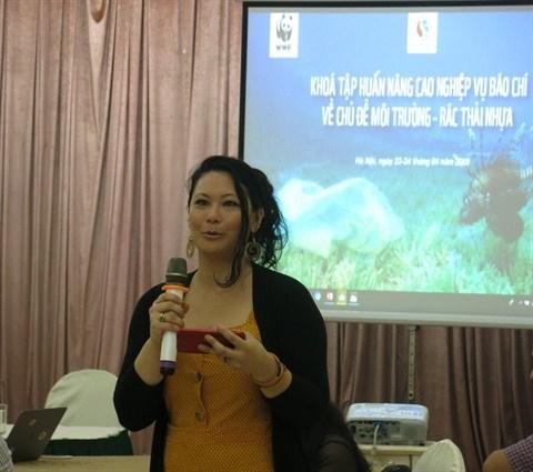 Journalisme: la protection de la nature au cœur d'une formation a Hanoi hinh anh 1