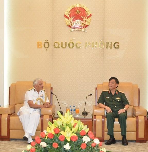 Les garde-cotes vietnamiens et indiens renforcent leur cooperation hinh anh 1