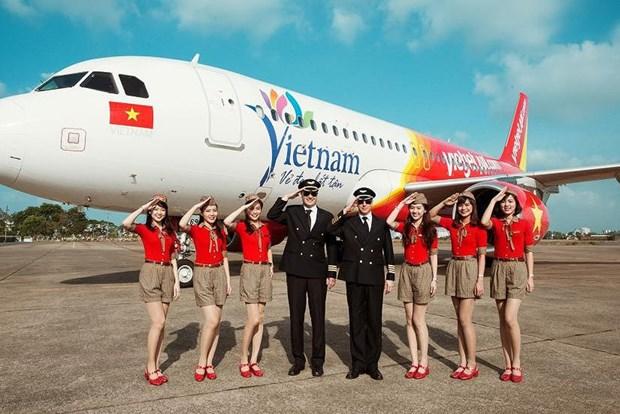 Vietjet Air celebre le 5e anniversaire de son premier vol vers la Chine hinh anh 1
