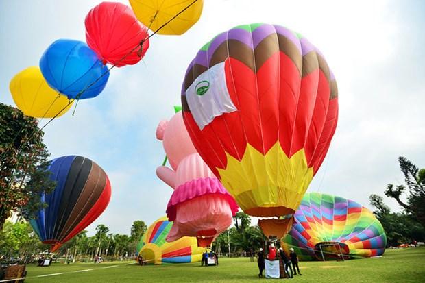Festival international de montgolfiere de Hue 2019 hinh anh 2