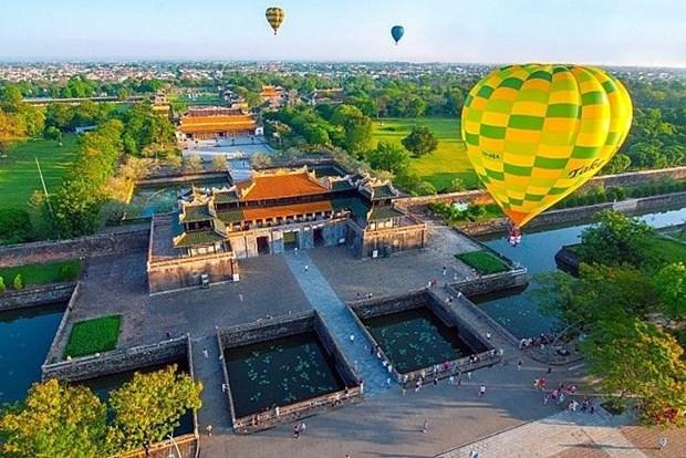 Festival international de montgolfiere de Hue 2019 hinh anh 1