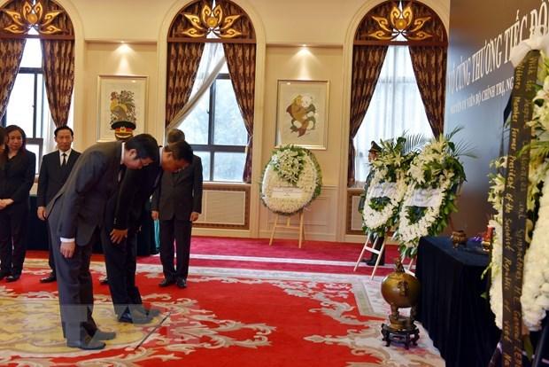 Hommage a l'ancien president Le Duc Anh en Chine, au Myanmar et aux Pays-Bas hinh anh 1