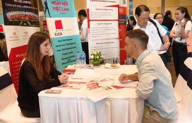 Bientot le 6e Forum d'emploi franco-vietnamien hinh anh 1