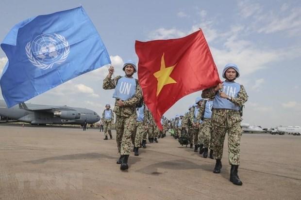 Le Vietnam appelle a intensifier l'amelioration de la performance des Casques bleus de l'ONU hinh anh 1