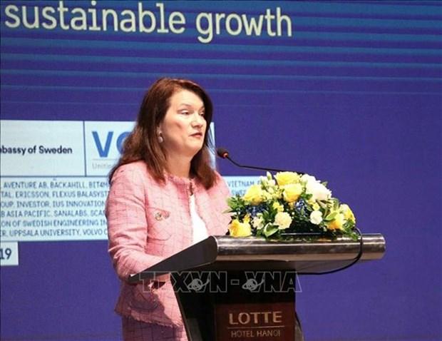 La Suede s'engage a aider le Vietnam a economiser de l'energie hinh anh 1