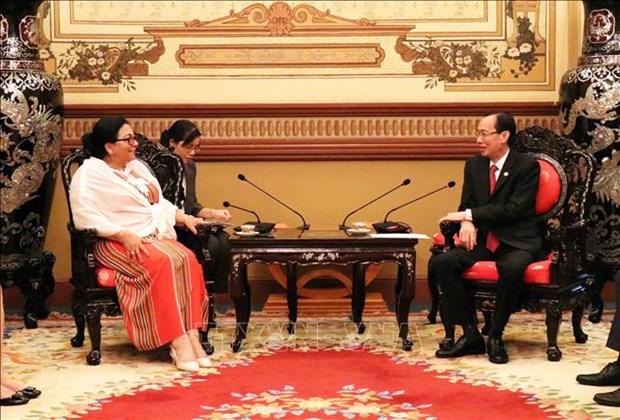 Ho Chi Minh-Ville veut cooperer avec Cuba dans le domaine de la sante hinh anh 1