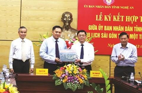 Saigontourist et Nghe An renforcent leur cooperation hinh anh 1