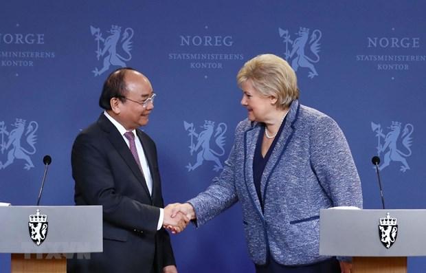 Declaration commune Vietnam-Norvege hinh anh 1