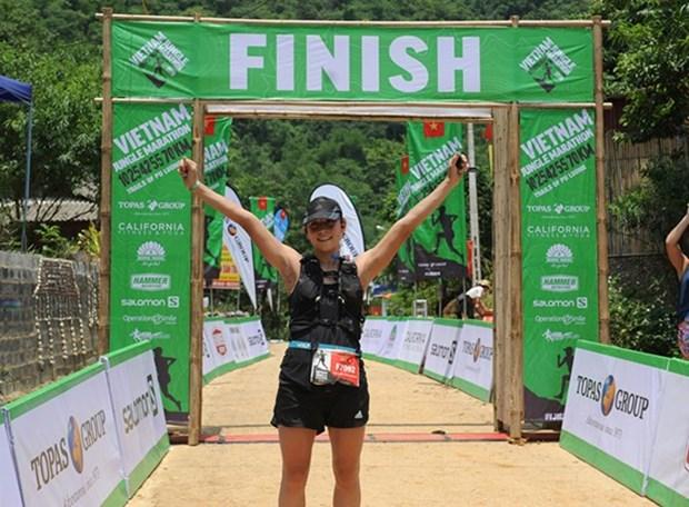 Pres de 1.000 coureurs rejoignent le Vietnam Jungle Marathon 2019 hinh anh 1