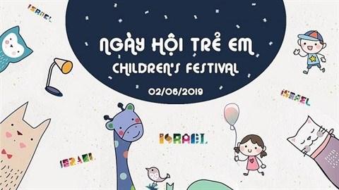 La fete des enfants organisee par l'ambassade d'Israel a Hanoi hinh anh 1