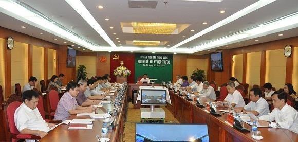 La Commission du controle du Comite central du Parti tient sa 36e reunion hinh anh 1