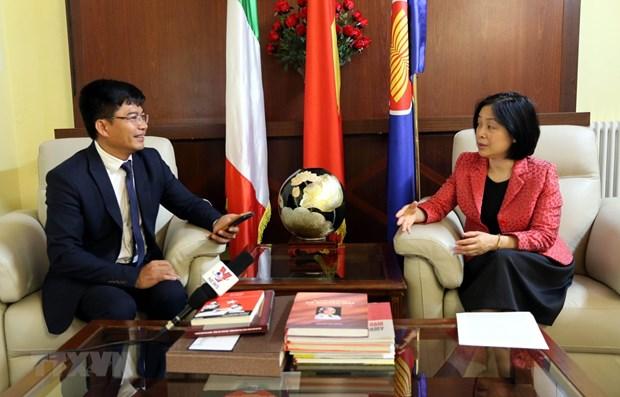 Les relations Vietnam-Italie en plein essor hinh anh 1