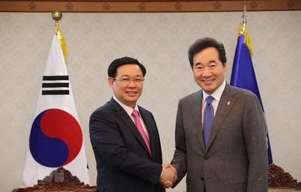 Le Vietnam et la R.de Coree s'efforcent d'atteindre un commerce bilateral de 100 milliards d'USD hinh anh 1