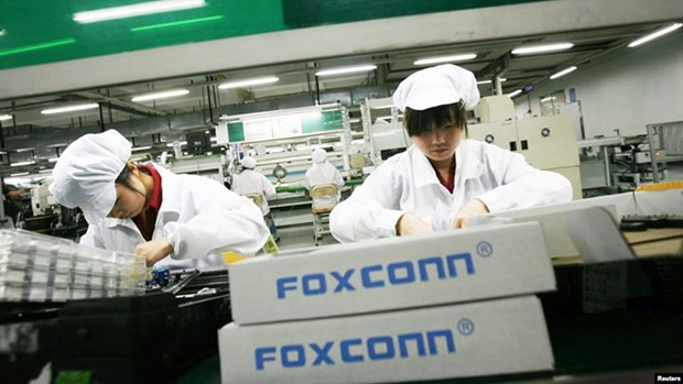 Foxconn veut ouvrir une usine de 40 millions de dollars dans la province de Quang Ninh hinh anh 1