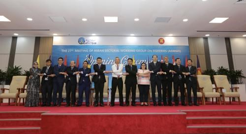 Les pays de l'ASEAN cooperent dans le developpement de la peche hinh anh 1