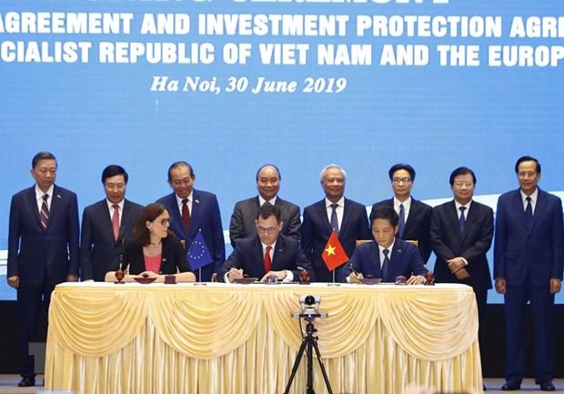 EVFTA : contribution a la promotion de la cooperation entre l'ASEAN et l'UE hinh anh 1