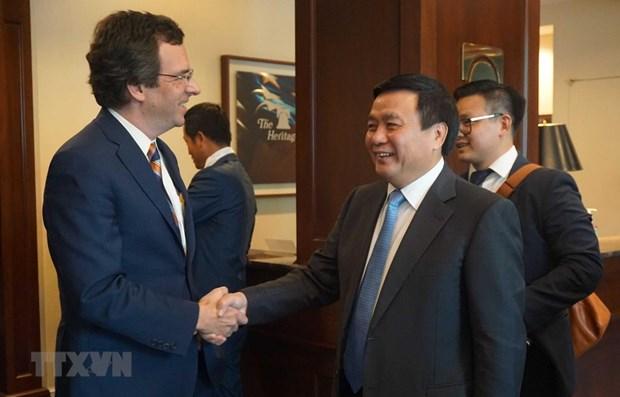 Le Vietnam et les Etats-Unis renforcent leur partenariat integral hinh anh 1