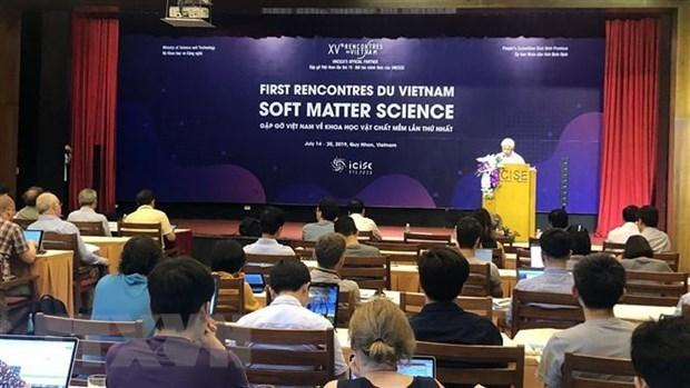 Rencontres du Vietnam : premiere conference sur la science de la matiere molle a Binh Dinh hinh anh 1